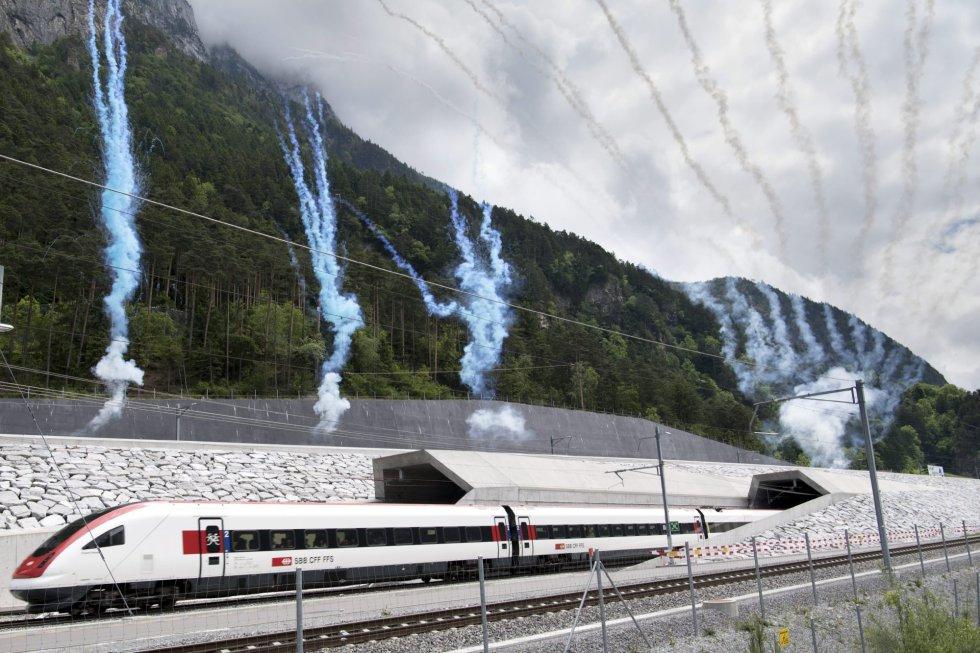 Pušten u promet i za putničke vozove najduži tunel na svijetu