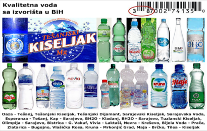 Osnovana Grupacija proizvođača flaširane vode Tuzlanskog kantona