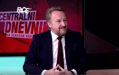 Gosp. Bakir Izetbegović gost Centralnog dnevnika na Face tv