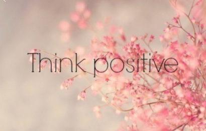 Razmišljaj pozitivno