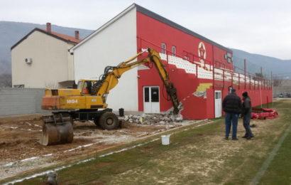 Počeli radovi na stadionu Veleža u Vrapčićima