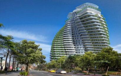 Na Tajvanu se gradi luksuzni neboder koji upija smog