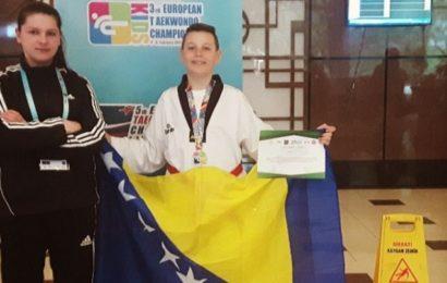 Denis Buljubašić osvojio zlatnu medalju na Trećem Evropskom taekwondo prvenstvu