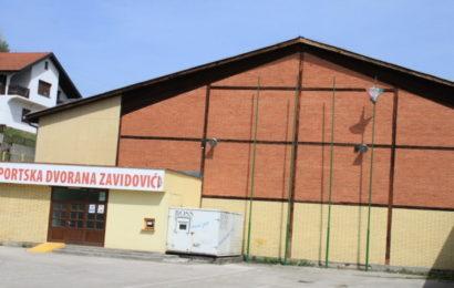 Počela rekonstrukcija krova na Sportskoj dvorani Zavidovići