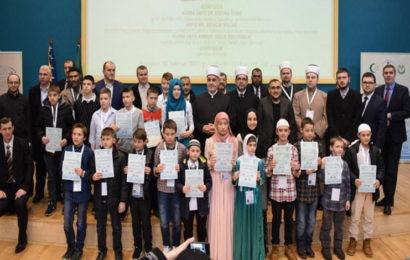 Održano Prvo takmičenje u hifzu 30. džuza Kur'an-i-Kerima