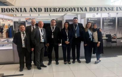 Federalni ministar Džindić prisustvuje Međunarodnom sajmu i konferenciji odbrane