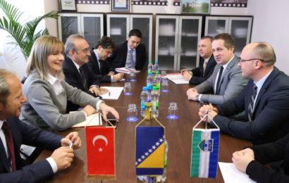 Ambasador Koc u Bihaću: Dobre političke odnose BiH i Turske preslikati na konkretne projekte