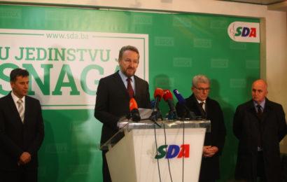 SDA: Svojim potezima SDP pokazuje da treba još dugo ostati opozicija