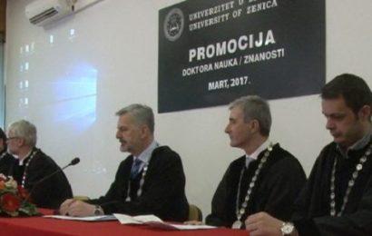 Na zeničkom Univerzitetu (UNZE) promovirano 9 doktora nauka