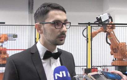 Bosanac programira robote za Audi