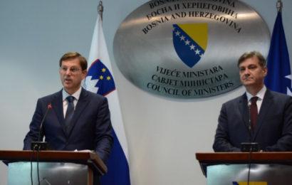 Zvizdić i Cerar: Putevi EU-e moraju ostati otvoreni