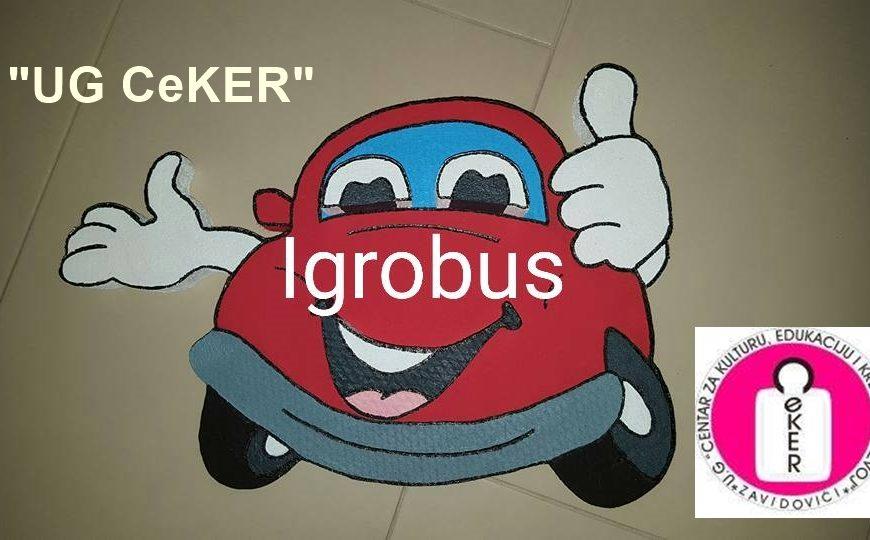"""""""UG CeKER"""" realizira projekat """"Igrobus"""" u osnovnim školama naše Općine"""