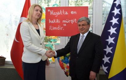 Izaslanstvo Ministarstva obrazovanja Republike Turske u Mostaru