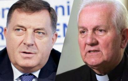 """Biskup Komarica: """"Ne smetam ja samo Dodiku, nego i mnogima koji navodno brinu o Hrvatima i katoličkoj crkvi!"""""""