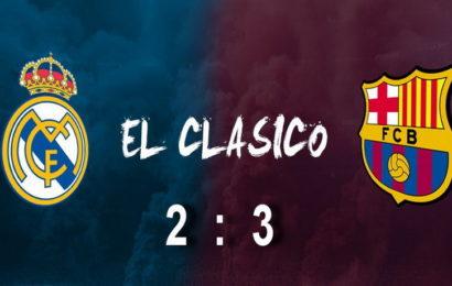 U najvećem fudbalskom spektaklu na svijetu EL CLASICU, Barselona večeras slavila