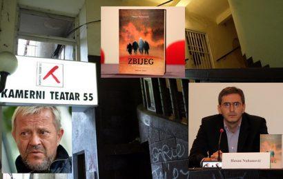 """U Kamernom teatru 55, večeras promovirano potresno remek djelo, Nuhanovićeva knjiga """"Zbijeg"""""""
