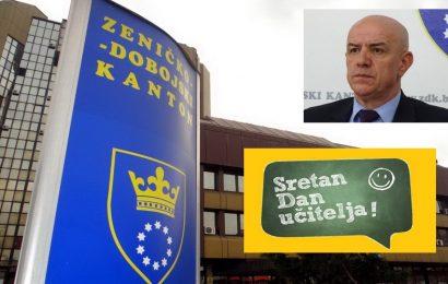 Premijer ZE-DO kantona Miralem Galijašević čestitao Dan učitelja