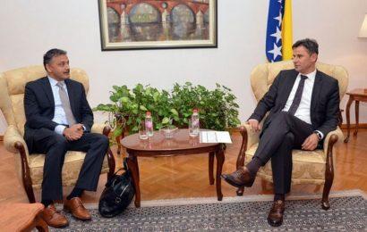Novalić i šef Misije MMF-a za BiH razgovarali o provođenju reformskih procesa