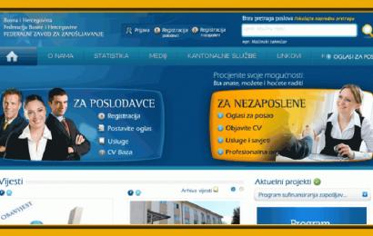 FZZZ: Javni pozivi za zapošljavanje u vrijednosti od 40 miliona KM