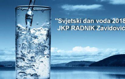 """JKP RADNIK: Konkurs """"Najmlađi za vode"""" povodom Svjetskog dana voda"""