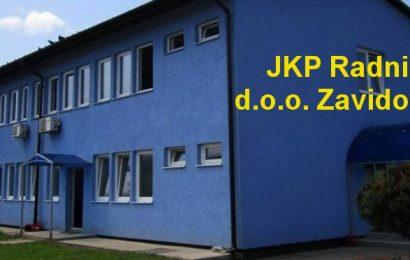 JKP Radnik: Obavještenje o novom terminu odvoza komunalnog otpada