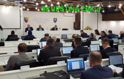 Skupština ZDK: Dopunjen dnevni red o ukidanju poreza na nekretnine za mlade