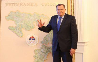 Milorad Dodik o mapi nove srpske države: To će biti jednog dana, bit će malo i od Crne Gore