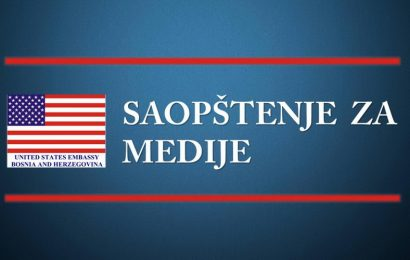 Ambasada SAD: Pravo građana na vladavinu zakona u BiH