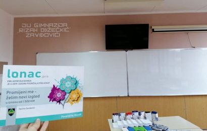 Učenici zavidovićke Gimnazije realizirali projekat vrijedan oko 2500 KM