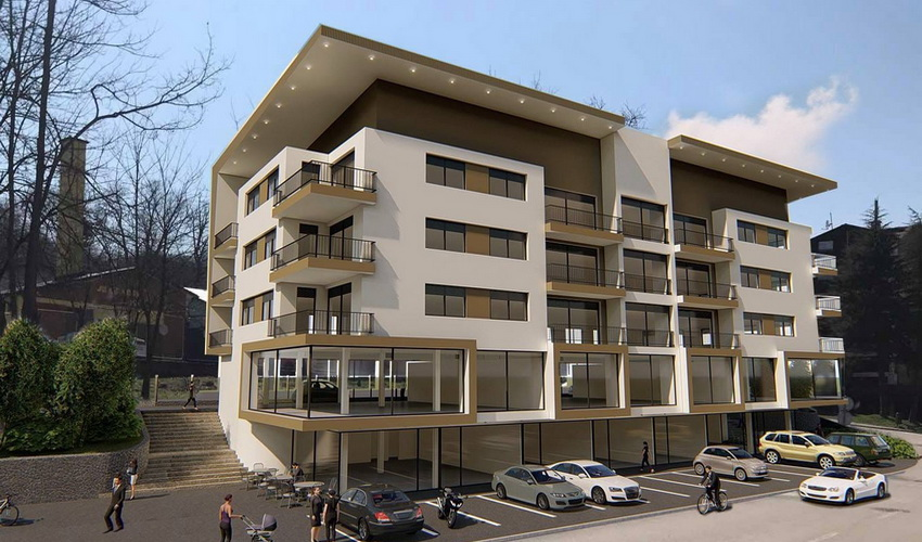 U Zavidovićima se gradi moderan stambeno-poslovni kompleks