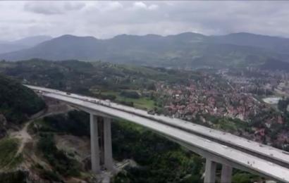 Kako izgledaju gradilišta na koridoru 5C snimana dronom
