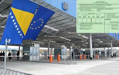 Vozila iz BiH prilikom putovanja u zemlje EU više ne trebaju zeleni karton