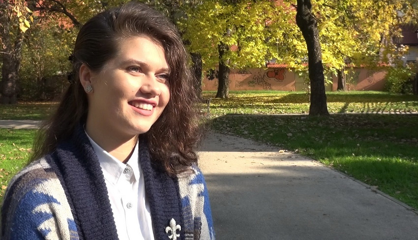 Za izvanredne rezultate Ajša Luković dobila nagradu rektora UNZE