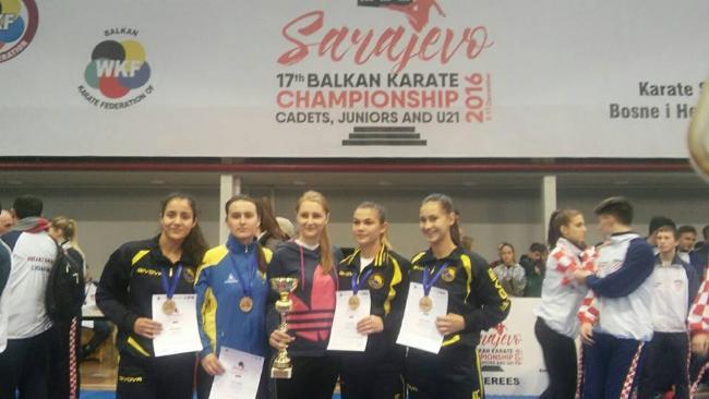 Zlato za juniorsku žensku reprezentaciju Bosne i Hercegovine