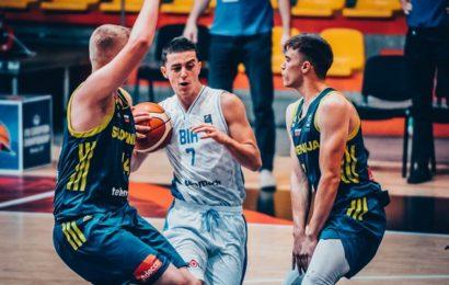 Pala je Slovenija: Juniori BiH u četvrtfinalu Eurobasketa