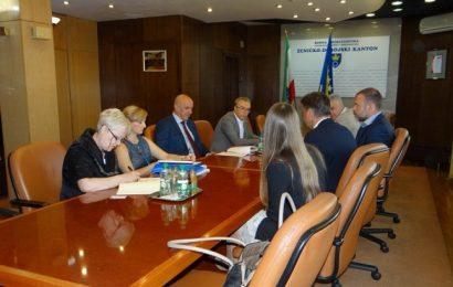 Delegacija D.Med Healthcare AG korporacije iz Njemačke u posjeti ZDK-u