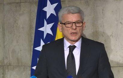 Džaferović: Njihove prijetnje o raspadu podsjećaju na poruke zločinca Karadžića