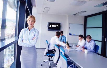 Četri trika za karijerni napredak